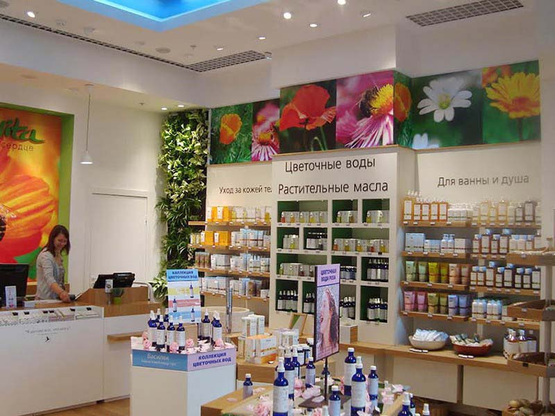 Loccitane-greenwall-design-kiev-